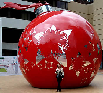 Giant Bauble Auckland.