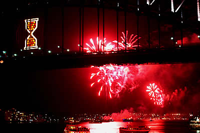 Sydney Harbour New Years Eve.
