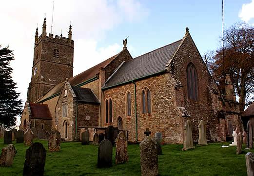 Winkleigh Church Of All Saints Devon England History