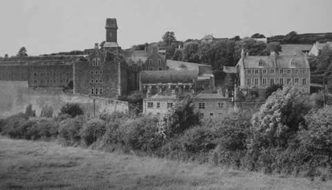 Vintage photo Bodmin Jail