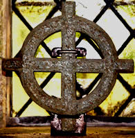 Cornish Cross St breward Church.