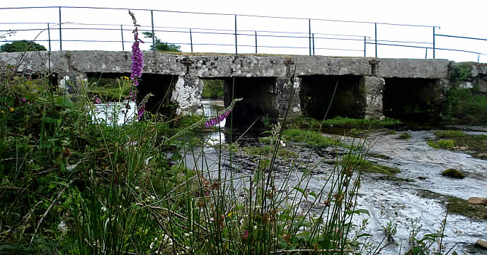 Delford Bridge St Breward Cornwall.