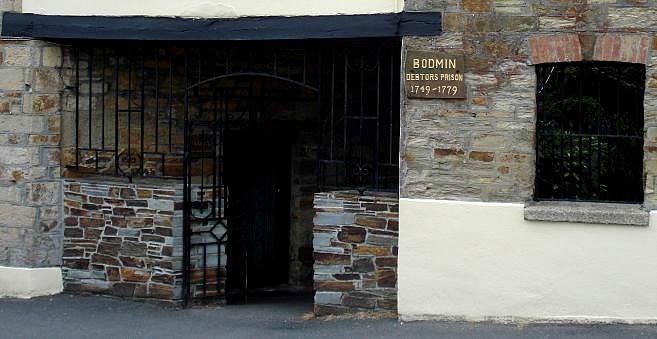 Debtors Prison, Bodmin Cornwall.
