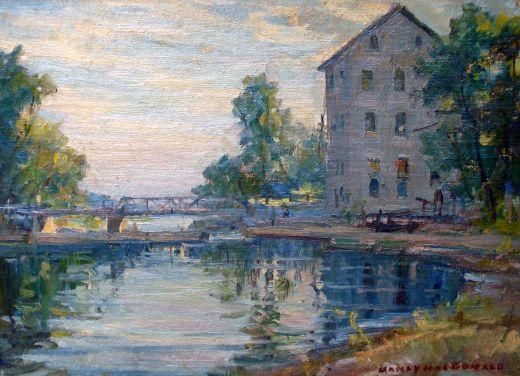 Manley MacDonald painting