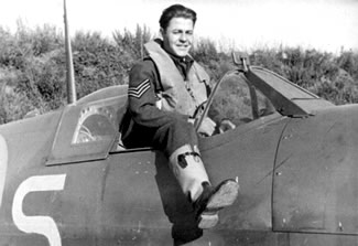 Polish fighter pilot RAF Winkleigh