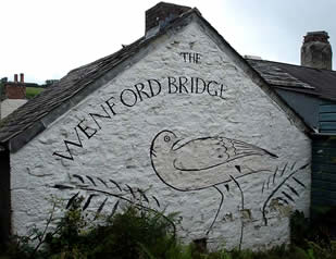 Original Wenford Pottery Sign.