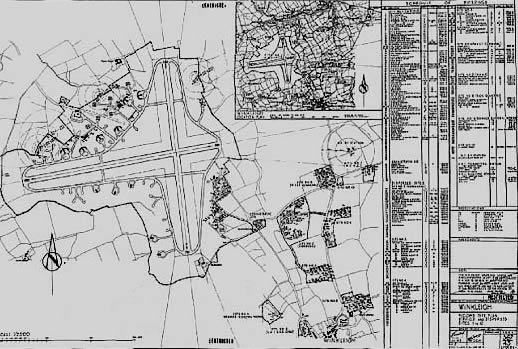 Aerial plan RAF Winkleigh